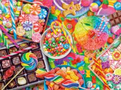 Candylicious Collage Jigsaw Puzzle