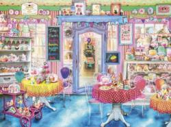 Vintage Cake Shop Sweets Jigsaw Puzzle