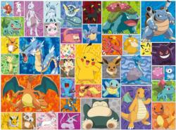 Pokemon - Pokemon Frames Video Game Jigsaw Puzzle