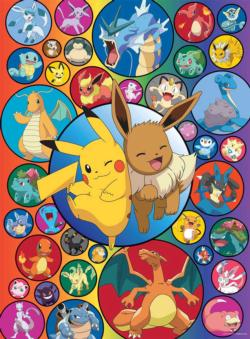 Pokemon Bubbles Video Game Jigsaw Puzzle