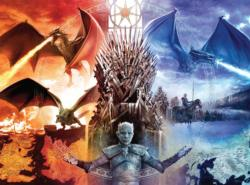 Game of Thrones: Fire and Ice Game of Thrones Jigsaw Puzzle