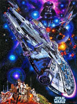 You're all Clear, Kid (Star Wars Vintage Art) Star Wars Jigsaw Puzzle