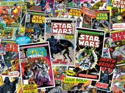 Star Wars Collage: Classic Comic Books Star Wars