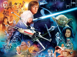 The Force Will Be With You… Always Sci-fi Jigsaw Puzzle