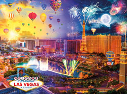 Fabulous Las Vegas Sunrise / Sunset Jigsaw Puzzle