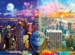 Manhattan Skyline Statue of Liberty Jigsaw Puzzle