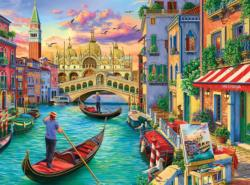 Sights of Venice Italy Jigsaw Puzzle