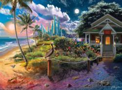 Beach Cabin Cottage / Cabin Jigsaw Puzzle