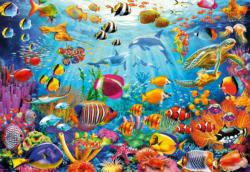 Reef Rush Hour Fish Jigsaw Puzzle