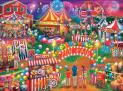 Country Fair Nostalgic / Retro Jigsaw Puzzle