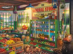Food, Tool & Tackle General Store Jigsaw Puzzle