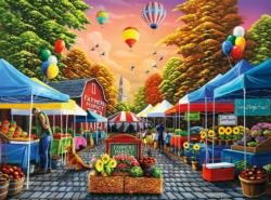 Farmers Market Shopping Jigsaw Puzzle