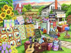 Country Yard Sale Shopping Jigsaw Puzzle