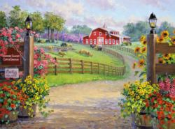 A Southern Warm Welcome Farm Jigsaw Puzzle