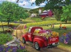 Friendly Farm Flowers Flowers Jigsaw Puzzle