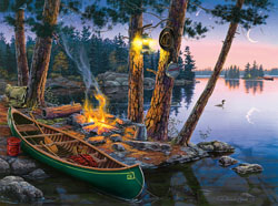 Summer Tranquility Sunrise / Sunset Jigsaw Puzzle