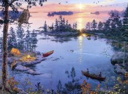Eagle-Eye View Lakes / Rivers / Streams Jigsaw Puzzle