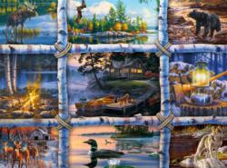North Country Collage Jigsaw Puzzle