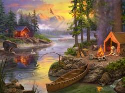 The Lake House Lakes / Rivers / Streams Jigsaw Puzzle