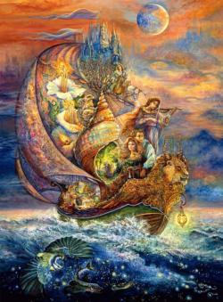 Voyage to Murllis Sea Boats Jigsaw Puzzle