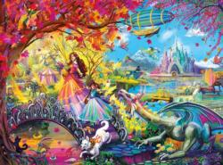 Autumn Castle Festival Fall Jigsaw Puzzle