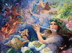 Enchanted Flute (Glitter Edition) Graphics / Illustration Jigsaw Puzzle