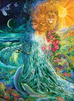 Power of the Elements (Glitter Edition) Sunrise / Sunset Jigsaw Puzzle