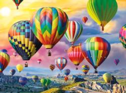 Up, Up and Away Balloons Jigsaw Puzzle