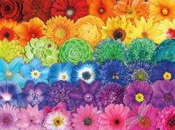Blooms of Color Flowers Jigsaw Puzzle