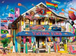 Surf Shack Shopping Jigsaw Puzzle
