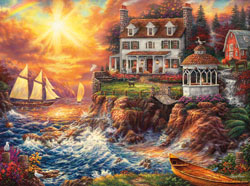 Life Above The Fray Sunrise / Sunset Jigsaw Puzzle