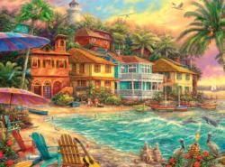 Island Time Beach Jigsaw Puzzle