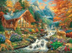 Alpine Serenity Lakes / Rivers / Streams Jigsaw Puzzle