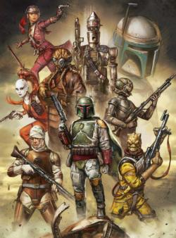 Star Wars™ Fine Art Collection - Scum and Villainy Star Wars Jigsaw Puzzle