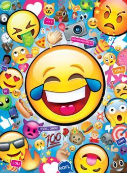 Emojis Collage Impossible Puzzle