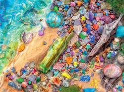 Beachcomber's Bounty Turtles Jigsaw Puzzle