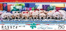 Holiday Puppies Baby Animals Panoramic