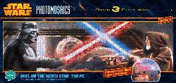 Light Saber Duel Star Wars Photomosaic Puzzle