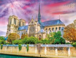 Cathedrale Notre-Dame Churches Jigsaw Puzzle