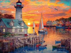 Colors of the Sunset Sunrise / Sunset Jigsaw Puzzle