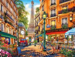 Paris Afternoon Eiffel Tower Jigsaw Puzzle