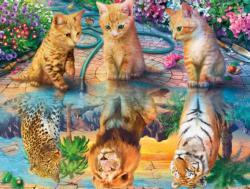 Kitten Dreams Tigers Jigsaw Puzzle