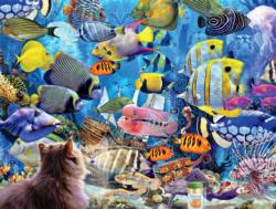 Aquatic Fantasies Fish Jigsaw Puzzle