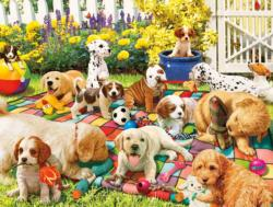 Puppy Playground Dogs Jigsaw Puzzle