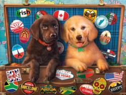 Stowaways Dogs Jigsaw Puzzle