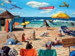 Ruff Summer Summer Jigsaw Puzzle