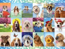 It's A Ruff Life - Scratch and Dent Dogs Jigsaw Puzzle