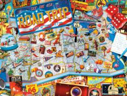 Road Trip United States Jigsaw Puzzle