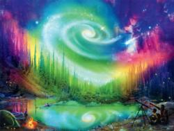 Galaxy Dream Night Jigsaw Puzzle