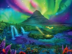 Enchanted Aurora Night Jigsaw Puzzle